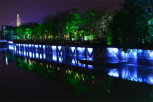 公园水景照明