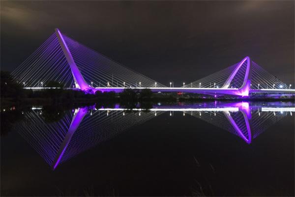 桥梁灯光亮化照明
