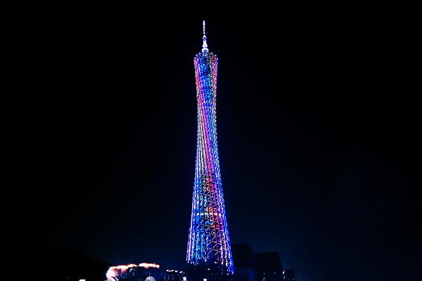 河南铁塔亮化-重视灯光夜景效果