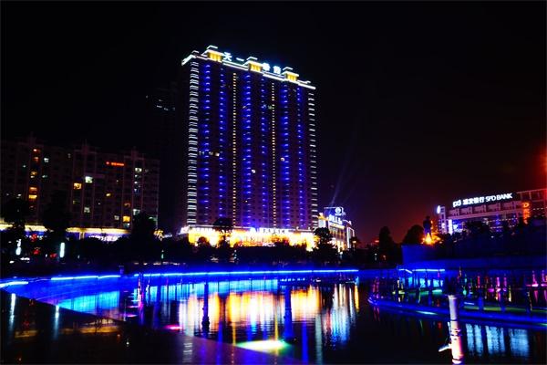 城市楼体亮化工程要达到设计规范标准