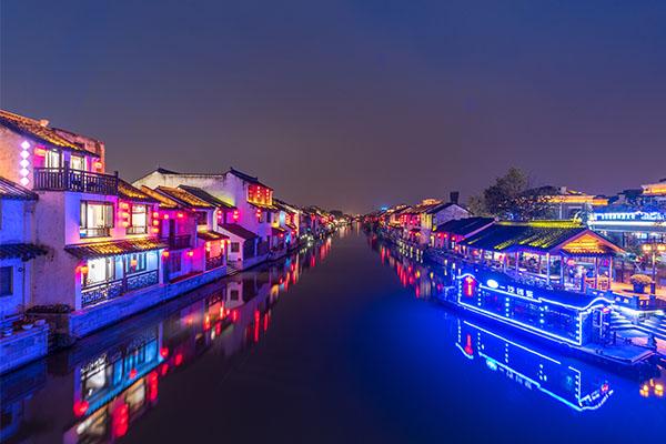 河道亮化设计-塑造河道夜晚景观形象