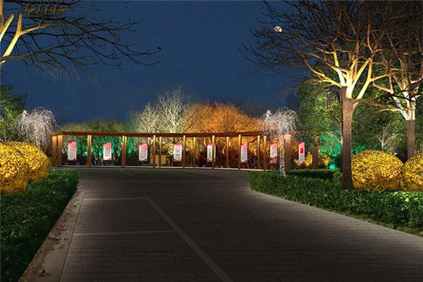园林广场亮化-用灯光效果满足游客