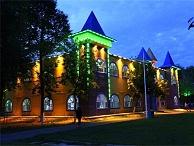 游乐园夜景照明-突出乐园主题文化