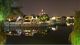 城市户外景观照明是现代夜间生活的标配