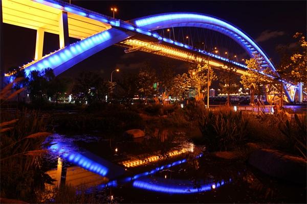 城市户外景观照明