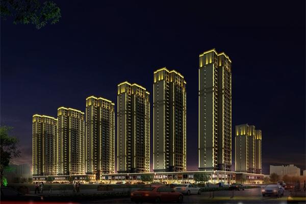 高层建筑灯光亮化要注意以下四点