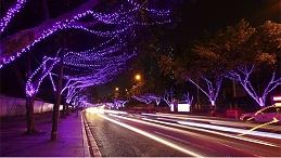 城市道路亮化工程要注重绿色节能标准