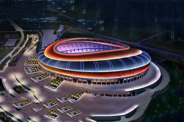 大型场馆亮化工程-灯光设计效果展现比赛精神
