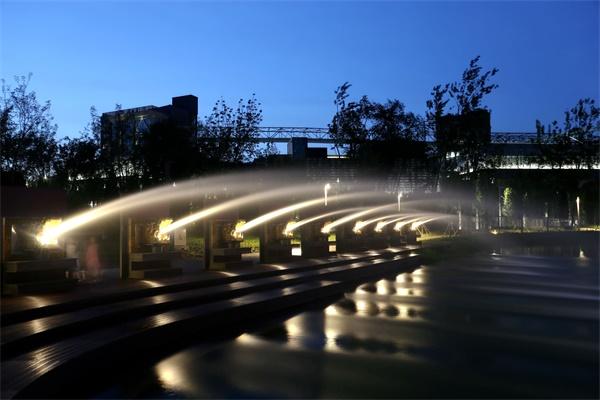 公园led灯光设计应符合哪些原则?