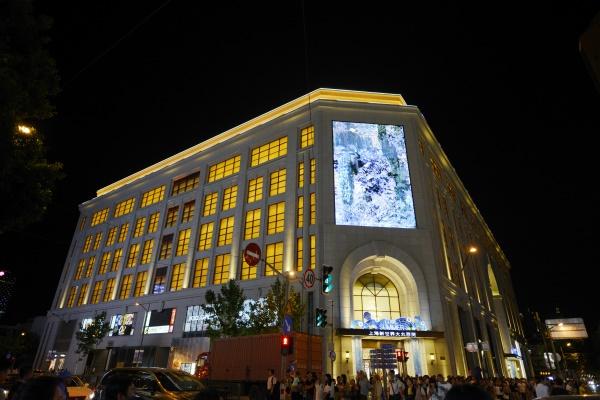 商业建筑夜景照明是城市现代化的重要标志