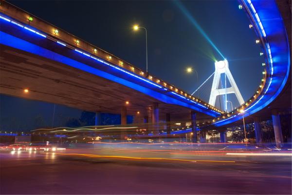 高架桥夜景照明