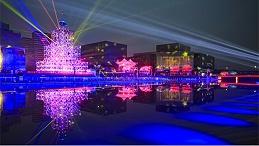 LED夜景灯光照明提高建筑艺术性