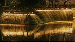 如何打造出合适的水景灯光亮化设计效果?