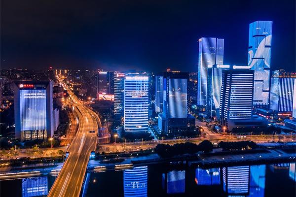 城市灯光秀对城市推动作用不容小觑