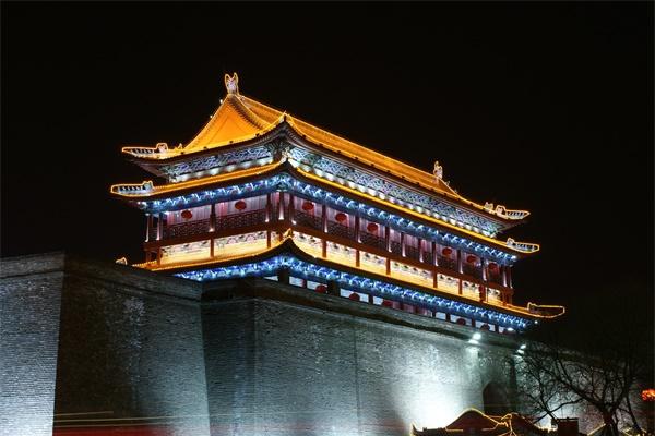 古建筑景观亮化是城市宣扬文化的重要方式