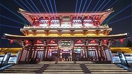 古建筑灯光设计要做到与城市夜景相融洽