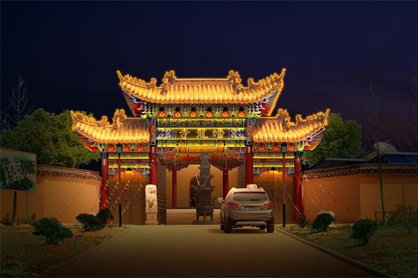 古建筑工程亮化-用灯光效果彰显历史文化