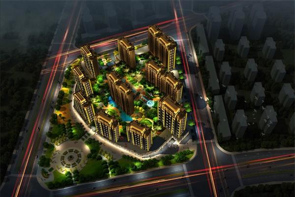 住宅楼亮化工程提升住宅品质