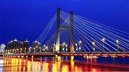 桥梁灯光亮化设计,让夜晚成为一道美丽的风景线
