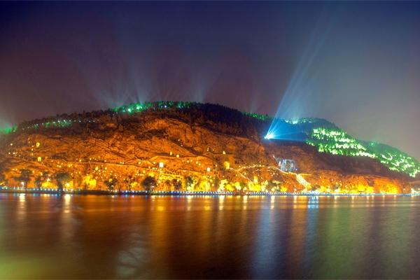 景区山体led灯光