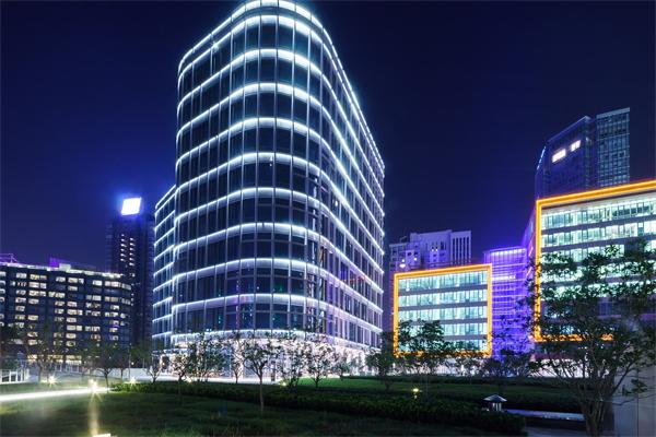 办公楼建筑亮化设计