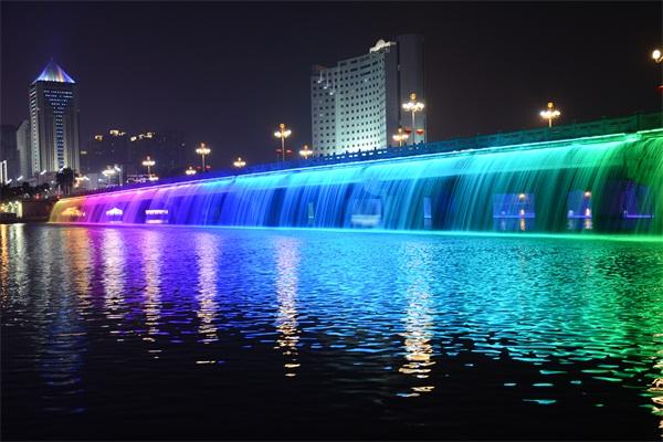 桥体亮化公司-提高大家夜间趣味