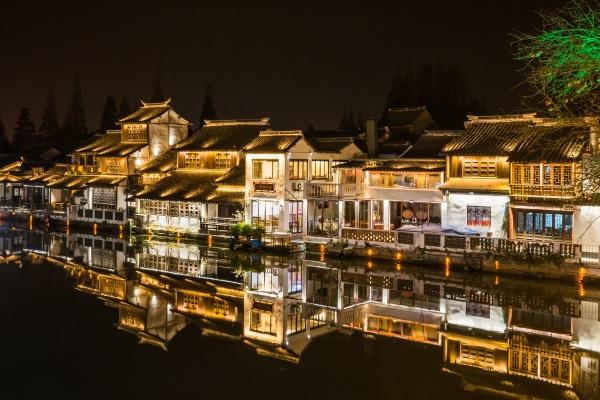 古城夜景照明