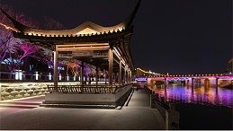城市亮化照明设计要符合城市发展的需求