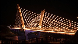 桥梁灯光亮化工程给人突出的视觉感受