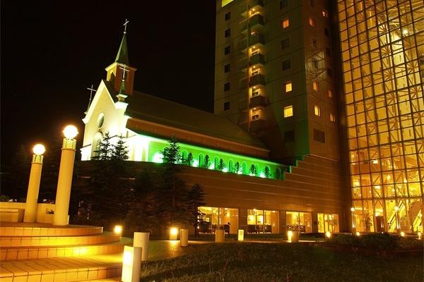 酒店大楼外墙亮化