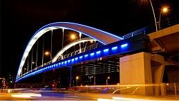 桥梁夜景亮化工程是提升城市形象的重点