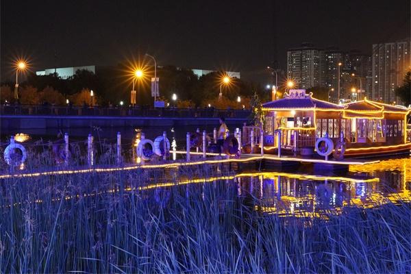 公园夜景亮化设计要营造温馨明亮的氛围