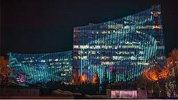 产业园楼体亮化提升建筑整体的魅力