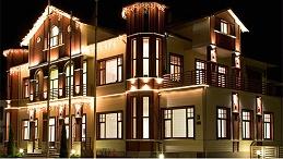 别墅外墙灯光亮化追求与环境的完美融合