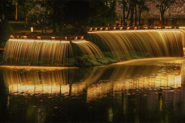河道夜景亮化照明
