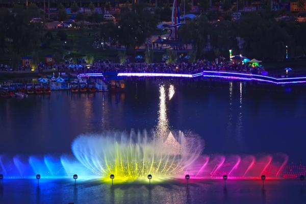 喷泉亮化工程