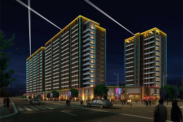 亮化照明工程是城市建设的一部分