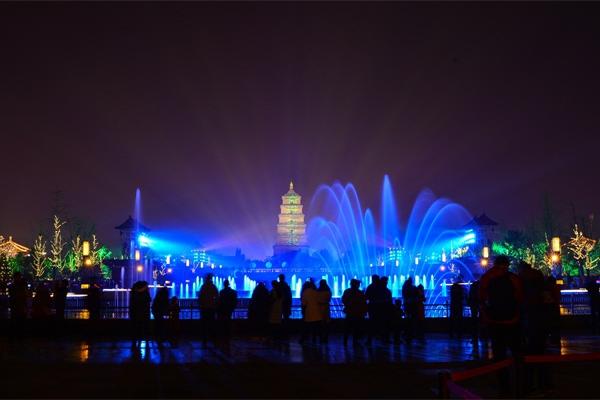 广场亮化照明-是城市对外展示名片