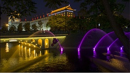 文旅景观照明设计中灯光运用的几大类型