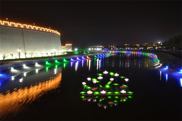 河道景观照明设计用灯光改善环境