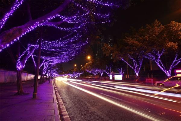 道路景观亮化工程属于市政工程一种